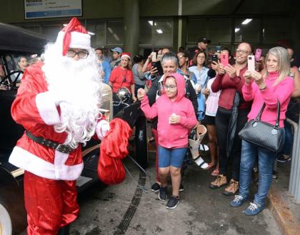 Jornal Tribuna destaca Faixa Branca no Natal do HC