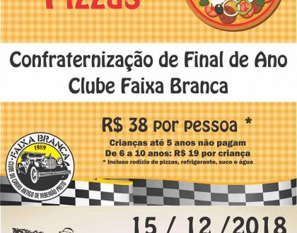 Clube Faixa Branca promove evento em benefício de lar de idosos